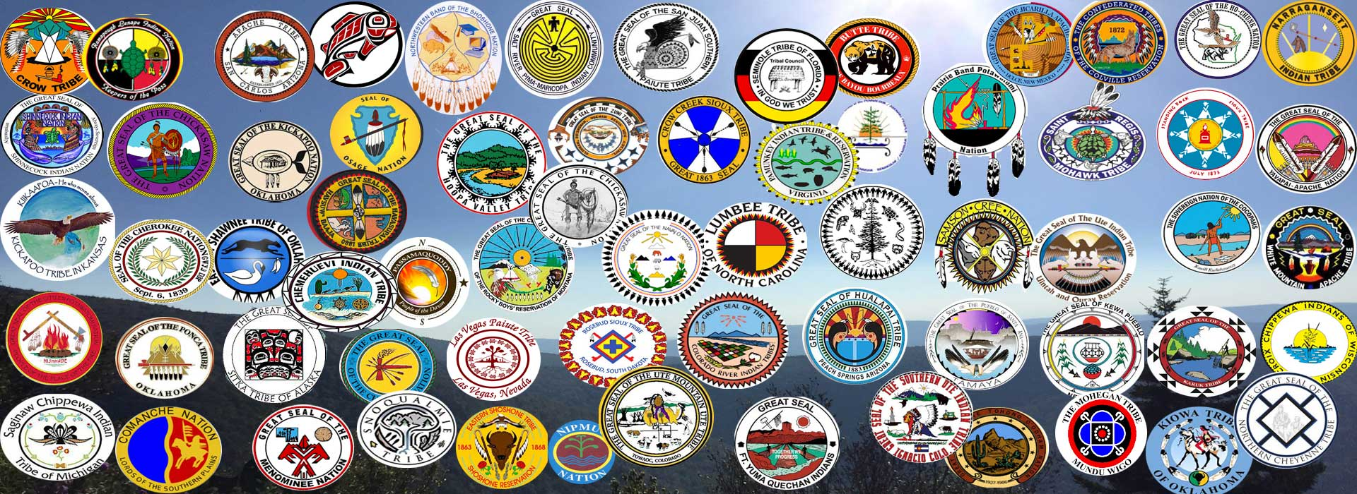 Great Seals of the native people of turtle island